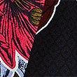 Floral Print Ruched Blazer , NAVY MIX, swatch
