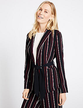 Striped Soft Jacket