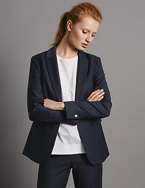 Panel Pocket Suit Jacket
