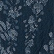 Jacquard Print A-Line Midi Skirt, BLUE MIX, swatch