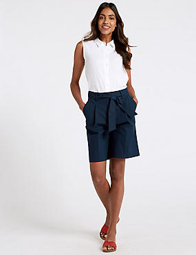 Cotton Rich Tailored Shorts