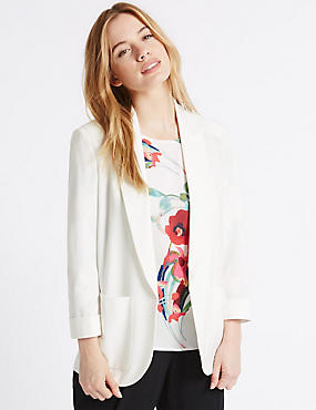PETITE Patch Pocket Jacket