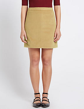 Tailored Fit A-Line Skirt