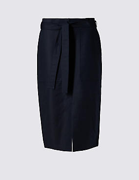 Supima® Cotton Rich Utility Skirt