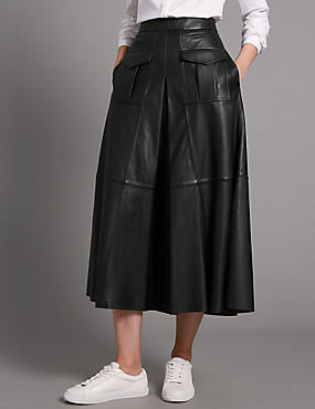 autograph skirts autograph leather suede skirts m s