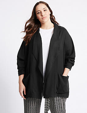 PLUS Drape Waterfall Jacket