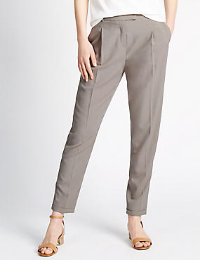 Roma Rise Tapered Leg Trousers