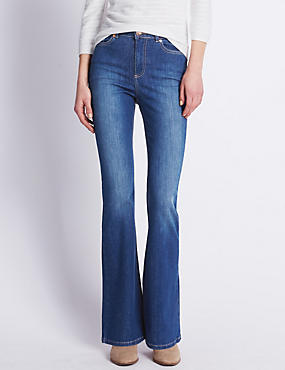 Roma Rise Flared Jeans