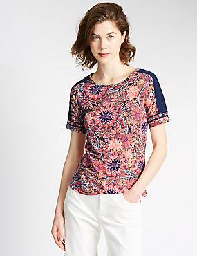 Loose Fit Floral Top