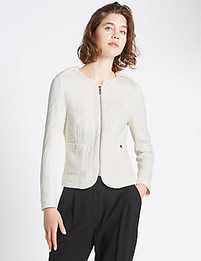 Tailored Fit Long Sleeve Jacket
