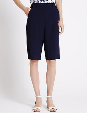 Tailored Fit Roma Rise City Shorts