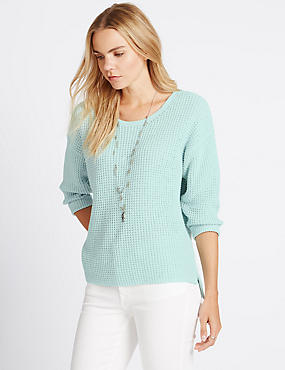 Pure Cotton Stitched Jumper