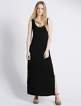 PETITE Sleeveless Maxi Dress