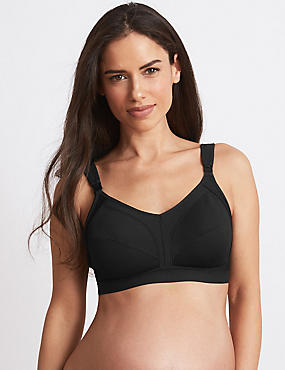 Maternity High Impact Non-Wired Sports Bra B-G