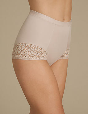Vintage Lace Low Leg Knickers