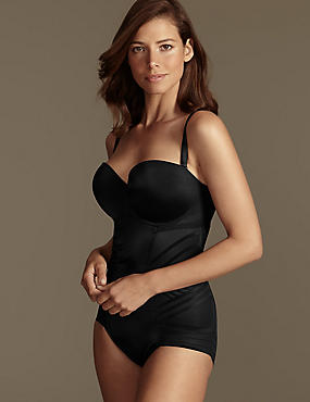 Firm Tummy Control Magicwear™ Geometric Strapless Body DD-G
