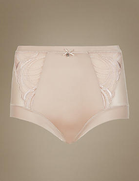 Light Control Embroidery Shaping Knickers