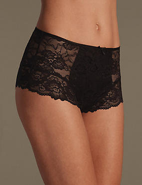 Light Control All Over Lace Brazilian Knickers