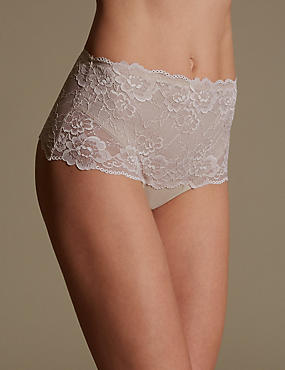 Light Tummy Control No VPL All Over Lace Thong