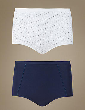 2 Pack Assorted Full Brief