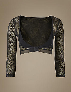Light Control Textured Lace Armwear
