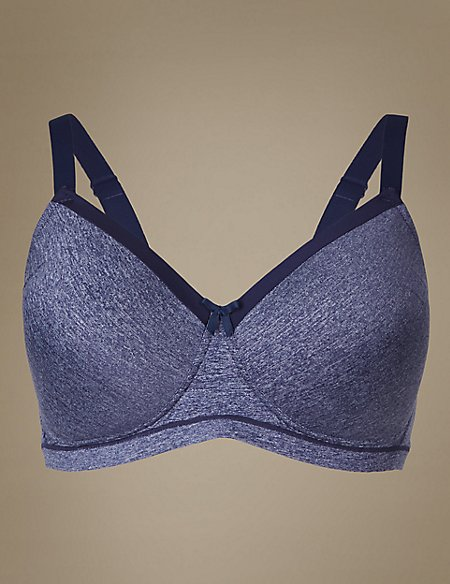 Post Surgery Sumptuously Soft Padded Full Cup Bra A-E