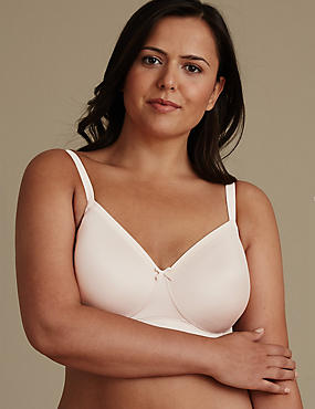 Post Surgery Sumptuously Soft Padded Full Cup Bra A-DD