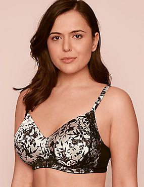 Silk & Lace Post Surgery Padded Bra