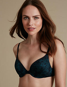 Sumptuously Soft Plunge T-Shirt Bra