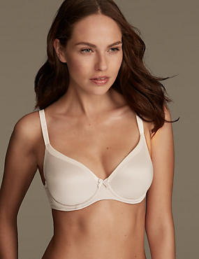 Sumptuously Soft Padded Full Cup T-Shirt Bra A-DD