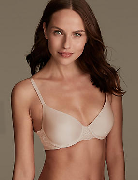 Smoothlines™ Lace Padded Full Cup T-Shirt Bra A-DD