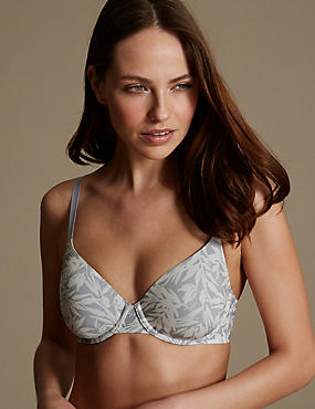Underwired Padded Cool Comfort Lite™ Full Cup T-Shirt Bra A-E