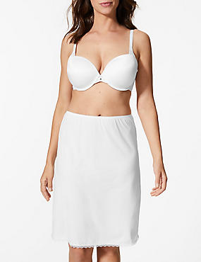 Waist Slip with Cool Comfort™ Technology, WHITE, catlanding
