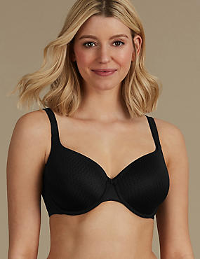 Padded Full Cup T-Shirt Bra A-E