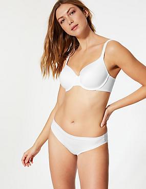 Shape Define Padded Full Cup T-Shirt Bra A-E, WHITE, catlanding