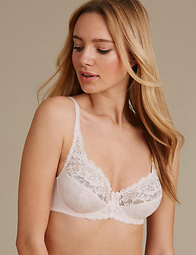 Lace Set with Full Cup A-DD