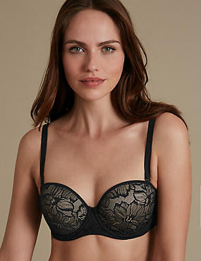 Youthful Lift™ Lace Padded Strapless Bra A-E