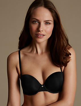 Cool Comfort Lite™ Underwired Padded Strapless Bra A-DD