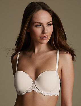 Strapless & Low Back Bras | Bandeau & Multiway Bras | M&S