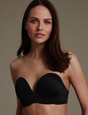 Superhold Non-Wired Padded Strapless Bra A-E