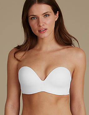 Strapless Set with Padded A-E