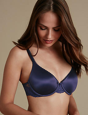Perfect Fit Padded Full Cup T-Shirt Bra A-E