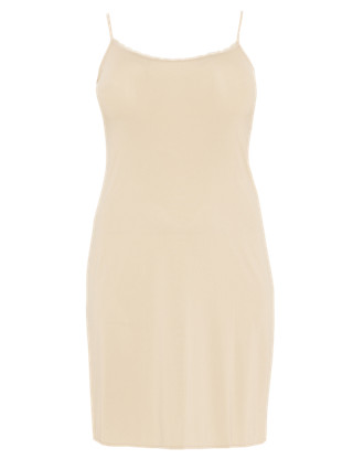 Plus Lace Neckline Full Slip with Cool Comfort™ Technology Clothing