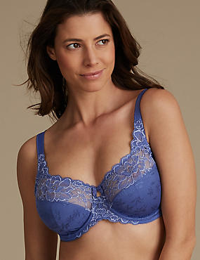 Lace Set with Full Cup DD-H