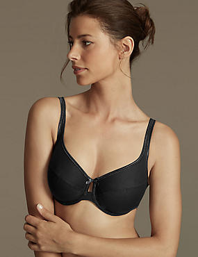 2 Pack Cotton Rich Full Cup Bras DD-G