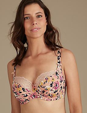 Floral Print Set with Non-Padded Balcony DD-GG