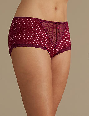 Embroidered Shorts, MAGENTA MIX, catlanding