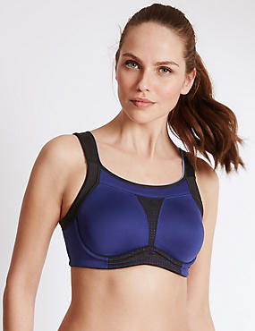 High Impact Non Padded Full Cup Bra B-G