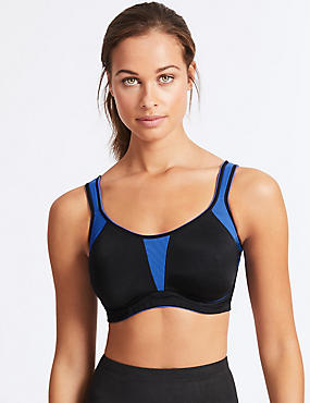 High Impact Non-Padded Sports Bra A-G