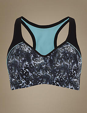 Breathable High Impact Underwired Padded Sports Bra A-G